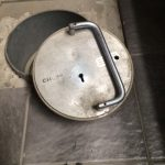 Chubb underfloor safe opened by Lomond Safe and Vault