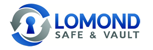 Lomond safe and vault logo
